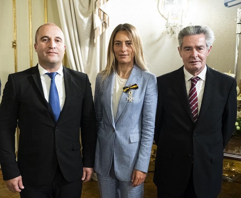 JV, Schenker & Pres.Camara